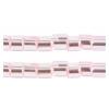 2 Cut Bead Silver Lined Light Pink 10/0 Strung